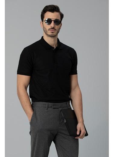 Lufian Clar Spor Polo T- Shirt  Siyah